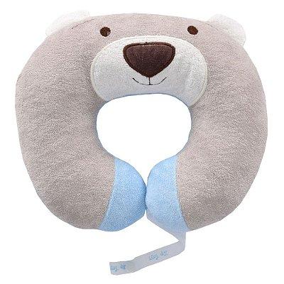 Protetor de Pescoço Ursinho Nino Azul - Zip Toys