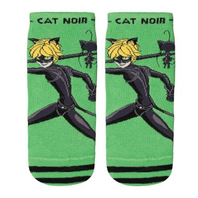 Meia Infantil Miraculos Cat Noir - Lupo