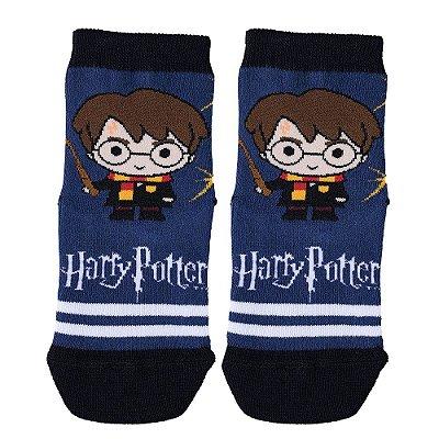 Meia Infantil Harry Potter Azul - Lupo