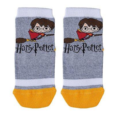 Meia Infantil Harry Potter Cinza - Lupo