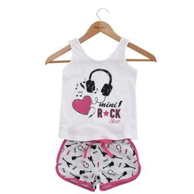 Pijama Infantil Mini Rock Star - Malwee