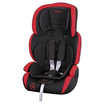Cadeira Para Auto Jig - Preto e Vermelho - Galzerano