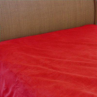 Cobertor Microfibra Casal - Vermelho Vivo - Parahyba
