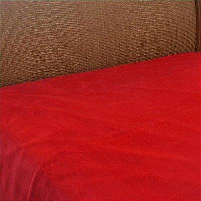 Cobertor Microfibra Queen - Vermelho - Parahyba