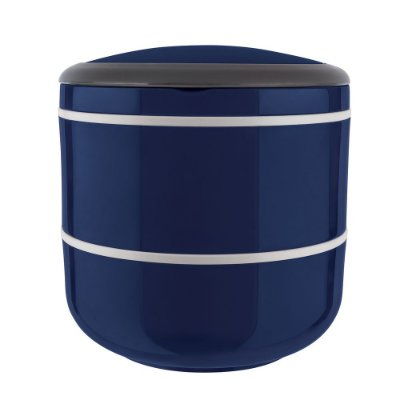 Marmita Lunch Box Dupla Microondas - Azul - Euro Design