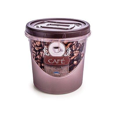 Pote Rosqueável Café 1,8L - Plasútil