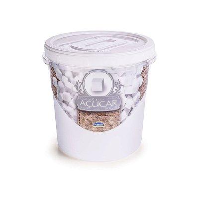 Pote Rosqueável Açúcar 1,8L - Plasútil