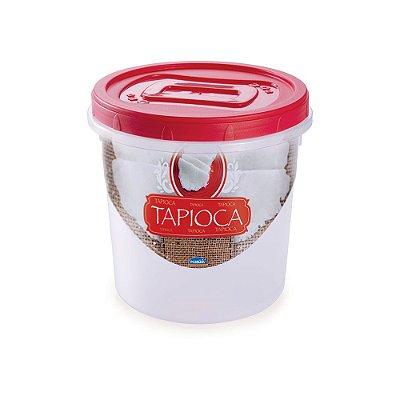 Pote Rosqueável Tapioca 1,8L - Plasútil