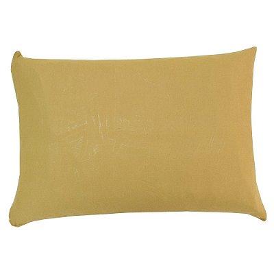 Capa Para Travesseiro Com Zíper - Caramelo - SulBrasil