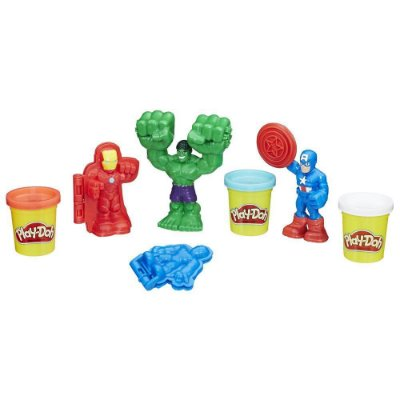 Conjunto Play-Doh Ferramentas dos Heróis - Hasbro