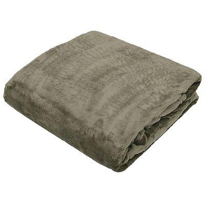 Cobertor Blanket Casal - Marrom - Kacyumara