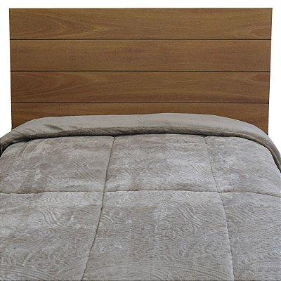 Edredom Dupla Face Duo Blanket Solteiro - Cinza Claro - Kacyumara