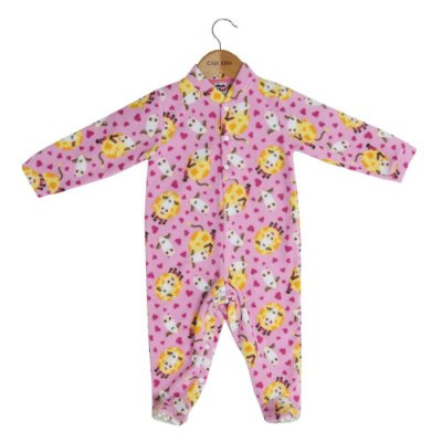 Macacão Pijama Infantil - Fazendinha - Tip Top