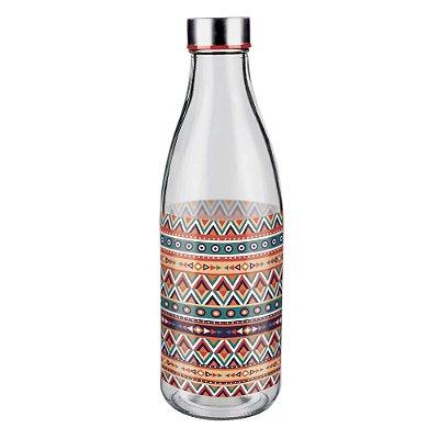 Garrafa de Vidro 950ml - Étnica - Euro Glass