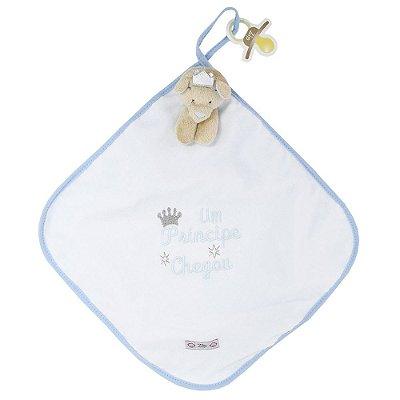Toalha de Boca Blanket Cetim - Um Princípe - Zip Toys