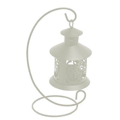 Lanterna Marroquina Com Suporte - Gelo - Wincy