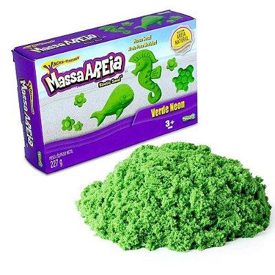 Massa Areia Neon - Verde Neon - Sunny