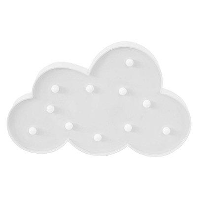 Luminária de Nuvem Com Leds - Branca - Wincy