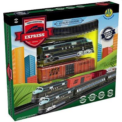 Trem Miniatura Express Premium - DTC