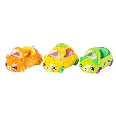 Shopkins Cutie Cars - Coleção Frutinhas - DTC