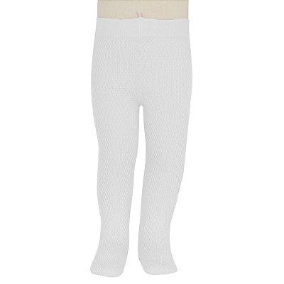 Meia Calça Cute Fio 70 - Branca - Lobinha