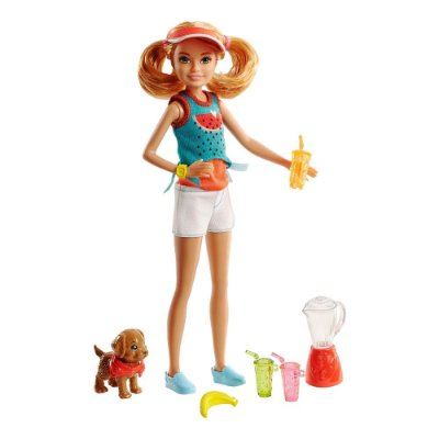 Barbie Irmãs na Cozinha Ruiva - Shakes - Mattel