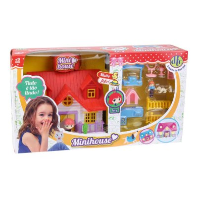 Conjunto Mini House - Lucy - DTC