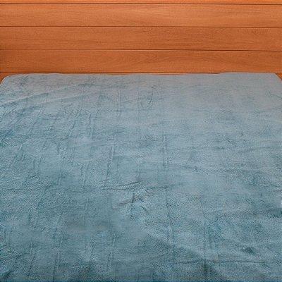 Cobertor Microfibra Casal - Azul - Parahyba