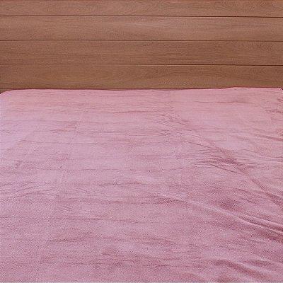 Cobertor Microfibra Queen - Rosa - Parahyba