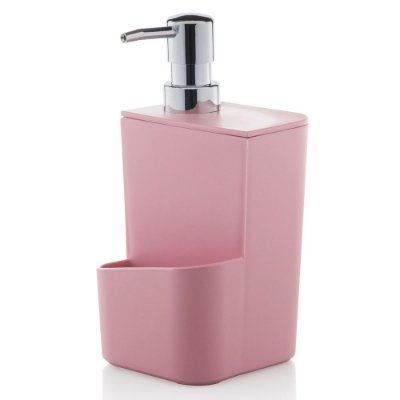Dispenser de Detergente 650ml - Rosa - Ou
