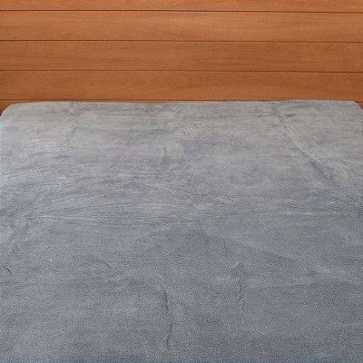 Cobertor em Microfibra Aspen King - Azul - Buddemeyer