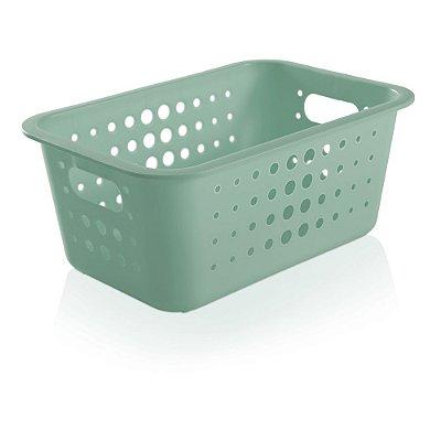 Caixa Organizadora Média - Verde - Ou