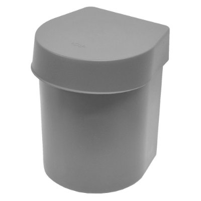 Lixeira de Pia Hide 3,5 Litros - Cinza - Ou