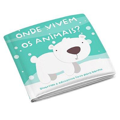 Livrinho de Banho - Onde Vivem Os Animais? - Multikids