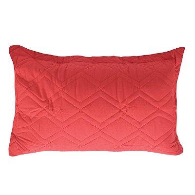 Porta Travesseiro Innovi - Vermelho Zig Zag - Kacyumara