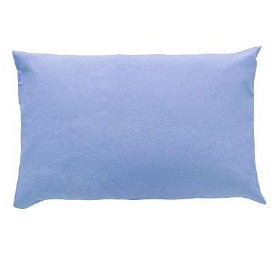 Fronha Avulsa Prata 150 Fios - Azul - Santista