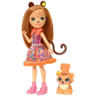 Enchantimals - Cherish Cheetah e Quick-Quick - Mattel