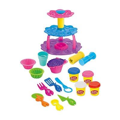Modele e Brinque - Cupcake - Dm Toys