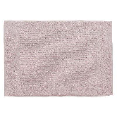 Toalha Piso para Pés - 48 x 70 cm - Rosa Seco 1634 - Buddemeyer
