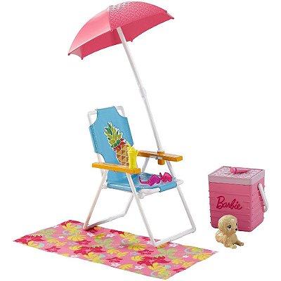 Diversão na Piscina da Barbie Com Pet - Mattel