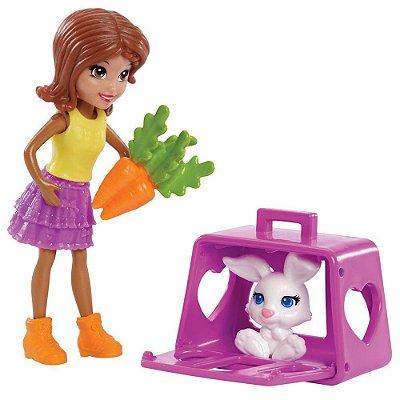 Polly Pocket - Brincadeira dos Bichinhos Shani - Mattel