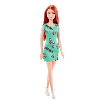 Boneca Barbie Fashion - Ruiva Happy - Mattel