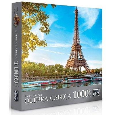 Quebra-Cabeça 1000 Peças - Paris - Game Office