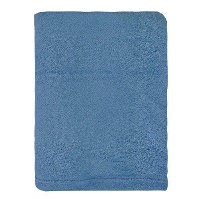 Cobertor Microfibra Para Viagem - Azul - Parahyba