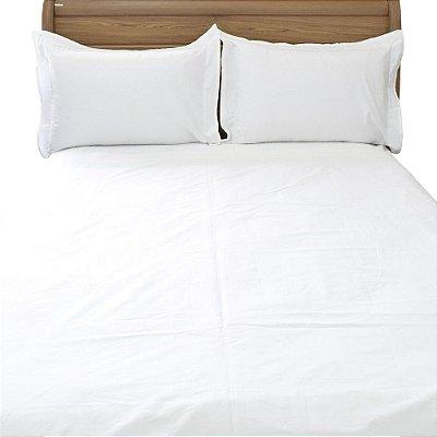 Jogo de Cama Confort Basic Premium Queen - Branco - Buddemeyer