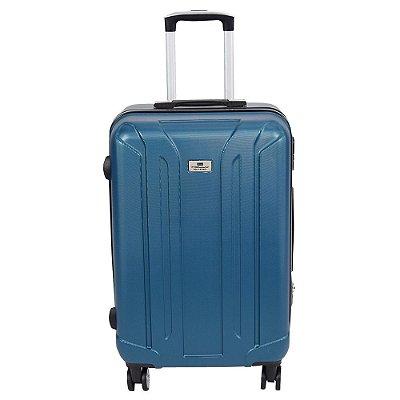"""Mala de Viagem ABS Média 24"""" - Azul - Holly"""