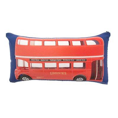 Almofada Palito - London Bus - Zona Criativa