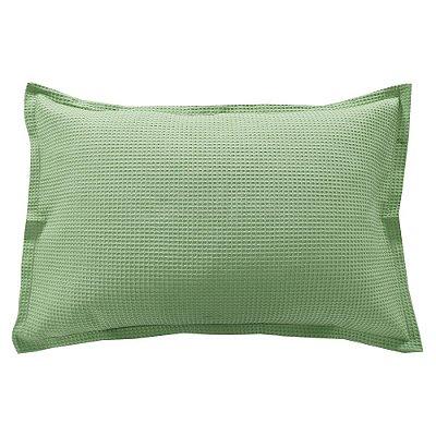 Porta Travesseiro Piquet - Verde - Döhler