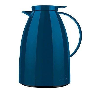 Bule Térmico Viena 1L - Azul Petróleo - Invicta