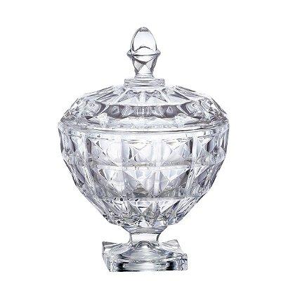 Bomboniere Aquamarine em Cristal - L'Hermitage